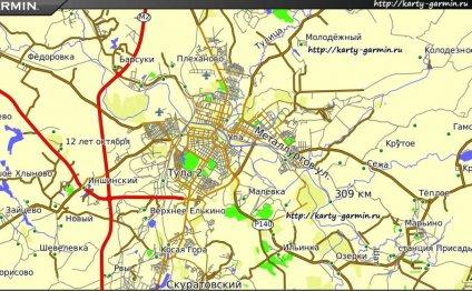 карте Тулы: библиотеки