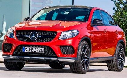 Mercedes GLE Coupe стоимость